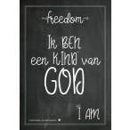 Posterkaart (A4): Ik ben een kind van God