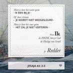 Wandbord M: Ik, De Heer, Ben Je God