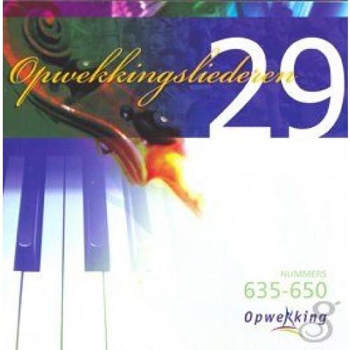 Opwekking 29 Nr 635 - 650 :   Opwekking, OPW20061