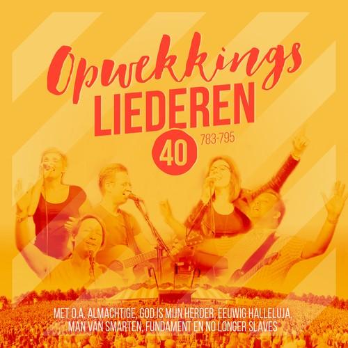 Opwekking 40 (Deluxe Combi-pakket) - Inclusief gratis LIVE-concert-DVD + 'The Making Of'-DVD + 5 luxe wenskaarten