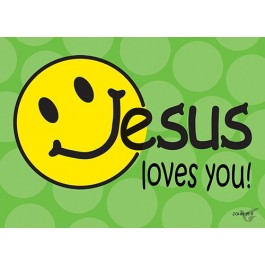 Postcard Jesus loves you set6
