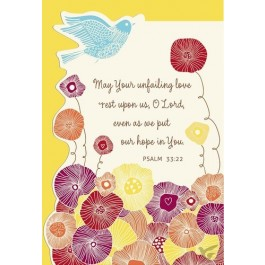 May Your unfailing love ... (Praying for you - 6 pieces)