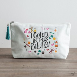 I color my Bible - Zipper pouch