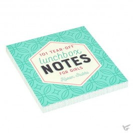 Lunchbox notes for girls - 101 sheets