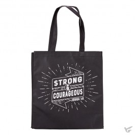 Strong and courageous - Black