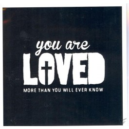 Wk vierkant puur you are loved