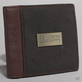 Be strong (Genuine Leather Wallet)