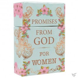 Promises from God for women - 50 double-sided cards