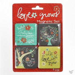 Love grows - Magnetic set
