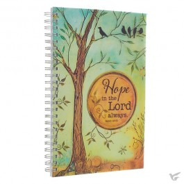 Hope in the Lord - Wirebound journal 14 x 21,5 cm
