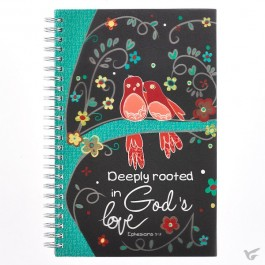 Gods love - Wirebound journal 14 x 21,5 cm