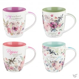 Rejoice collection - Set of 4 mugs