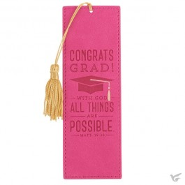 Congrats Grad - With God all things