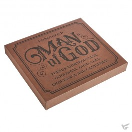 Man of God - MDF and LuxLeather