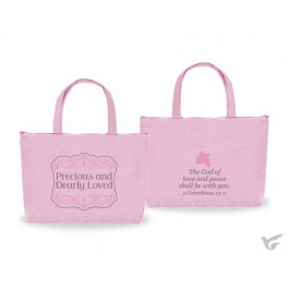 Tote bag precious and dearly loved coin