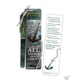Pen/bookmark anchored in Christ