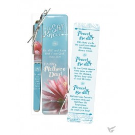 Pen/bookmark mother be still and know