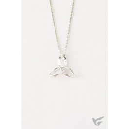 Triquetra Necklace (Sterling Silver necklace)