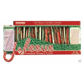 Mini Candy Canes - Box of 40 pieces