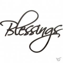 Blessings :   Wall word - 52,5 x 78 cm, 656200118337