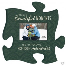 Todays Beautiful moment - Photo frame Puzzle Piece