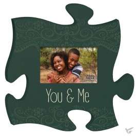 You and Me - Photo frame Puzzle Piece