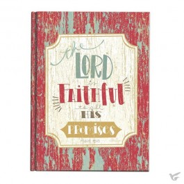 Casebound journal the lord is faithfull