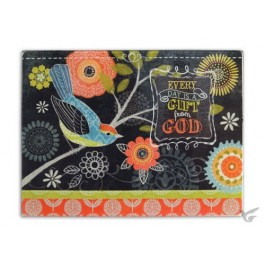 Every day is a gift from God - Glass cutting board 30 x 40 cm