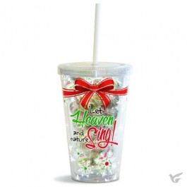 Let Heaven and nature - Filled straw cup