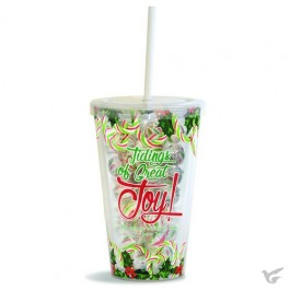 Tidings of great Joy - Filled straw cup