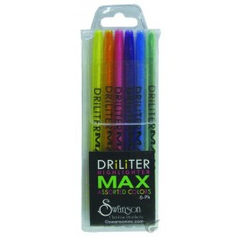 Driliter Highliters - Set of 6 Wax highlighters