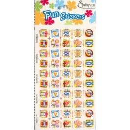 Christian Themes - 6 sheets of 50 Stickers