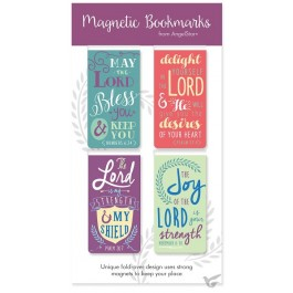 Magnetic bookmarks may the Lord bless