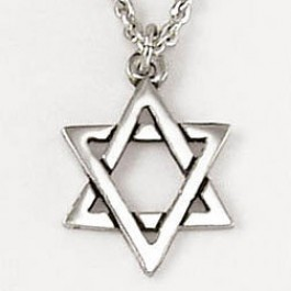 Star of David (Sterling Silver necklace)