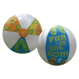 Fun in the Son - Cross - Jumbo Beach Ball
