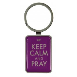 Keep calm and pray - Keyring
