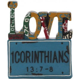 Love - License plate - 12 cm