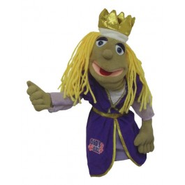 Princess - Gods Girl embroidery - Puppet