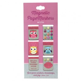 God gives wisdom (Magnetic PageMarkers Set of 6)