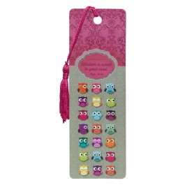 Wisdom is sweet to your soul (Bookmark - PVC) 51 x 155 mm