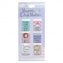 Holly & Hope (Magnetic PageMarkers Set of 6)