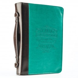 I can do everything (Biblecover - Large) Fits Bibles up to 168 x 241 x 50 mm