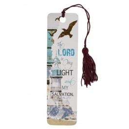 The Lord is my Light and my Salvation - Bookmark with tassel