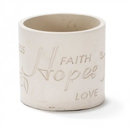 Faith Hope Joy Peace - 10 cm high