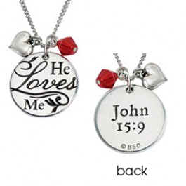 He loves me - Necklace  :  , 637955063875