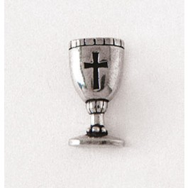 Pewter Pin - Anstecker Abendmahlbecher silberfarben Pewter Pin, Communion Cup (5103551195)