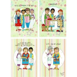 Cards all occasion church kitchen ladies