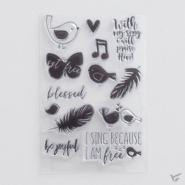 Seeds of Faith - Clear stamps