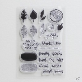 Gratitude - Clear stamps