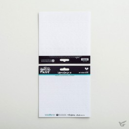 White - Cardstock stickers numbers
